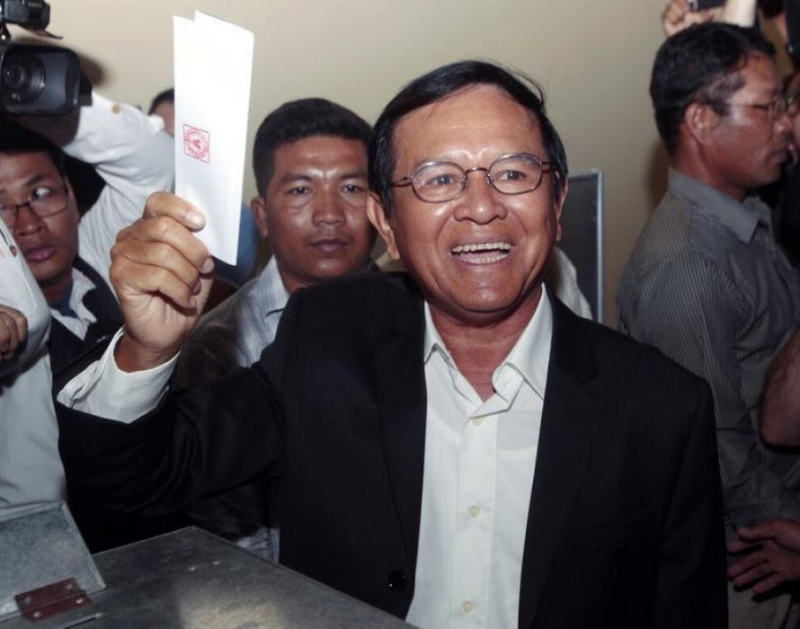 Cambodia begins treason trial of the opposition leader as criticism mounts