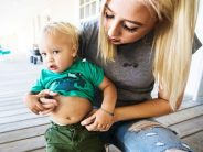 Angry mom blasts daycare teacher for writing note on son's stomach