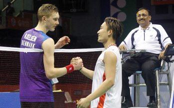 Japan's Kento Momota easily wins Malaysia Masters