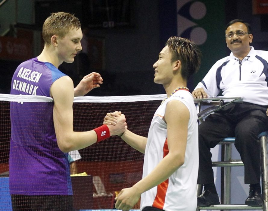Japan's Kento Momota easily wins Malaysia Masters