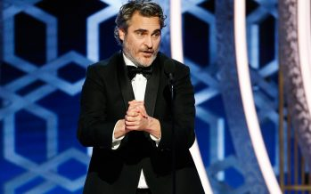 Golden Globe: Joaquin Phoenix wins Best Actor