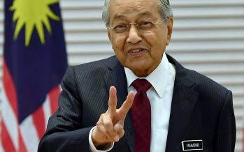 Dr M will go when he wishes; nothing will rattle him!