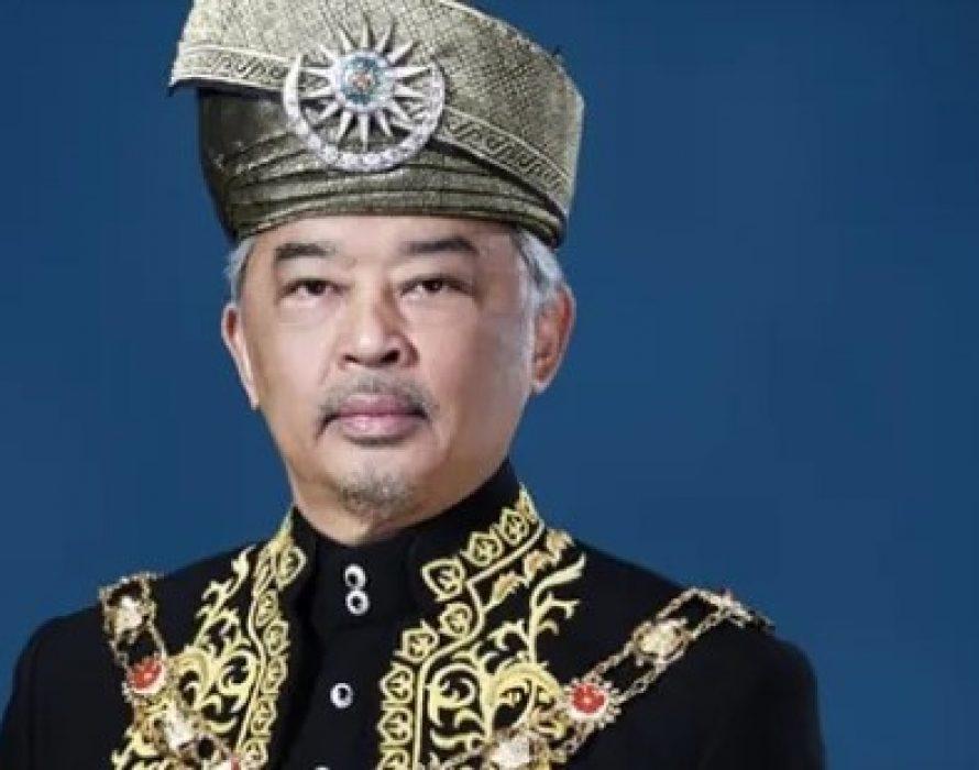 Agong confers DK Pahang award on Selangor Sultan