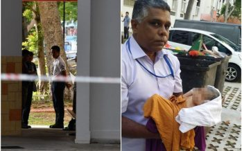 Baby wrapped in plastic found alive in Singapore rubbish chute
