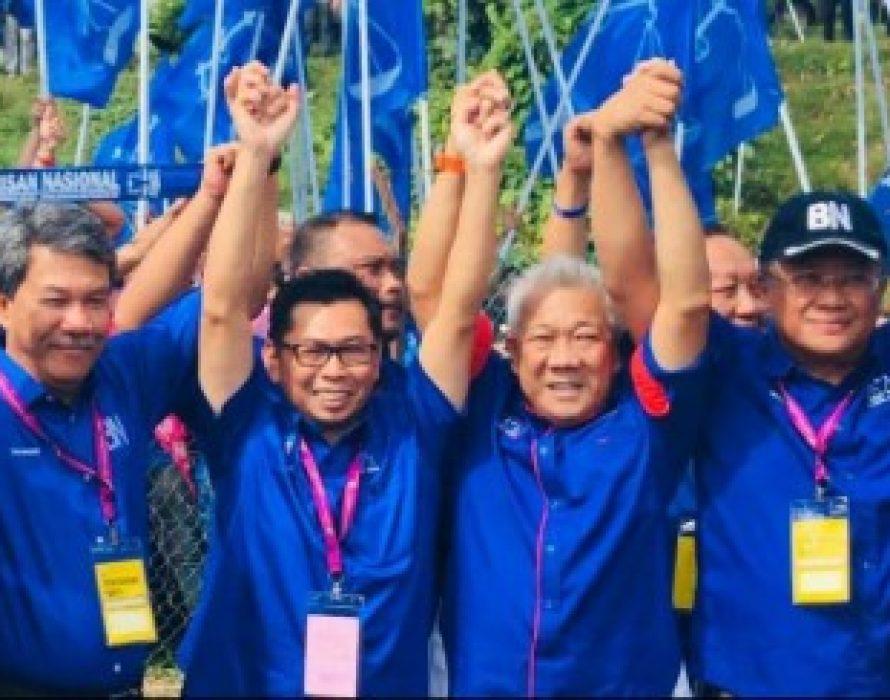 Kimanis by-election: BN celebrates landslide victory