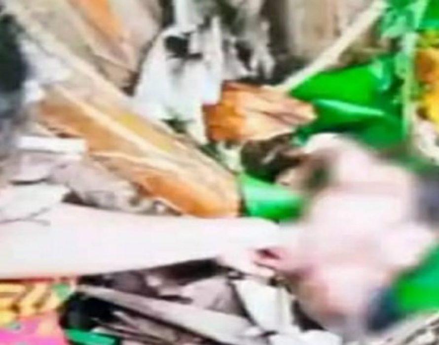 Farmer finds crying baby near banana tree in Sibu