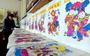 Cultural Festival in Weifang, Shandong Presents Local New Year Customs
