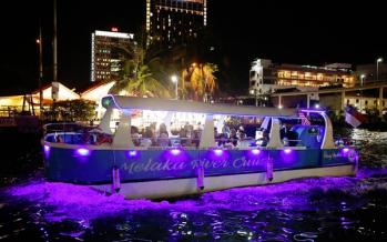 Melaka river cruise stopped temporarily from Jan 14
