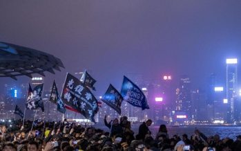 Hong Kong gears up for huge New Year's Day anti-government march