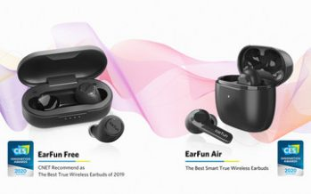 EarFun Wins Second CES Honor with Upcoming EarFun Air Earbuds, Promises New Tech for 2020