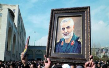 Huge crowds in Iran for commander's funeral