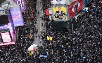 Hong Kong protest: Hundreds arrested in New Year's Day protests