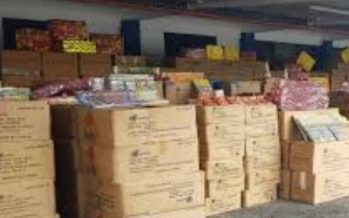 Marine police seized fireworks, firecrackers worth over RM1.5 mln