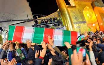 Body of Qassem Soleimani  arrives for burial in southeast Iran