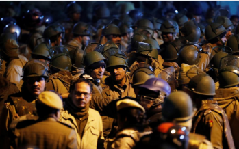 Students, youth wing of pro-ruling party outfit clash in India's capital