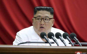 Kim promises 'new strategic weapon,' leaves room for talks