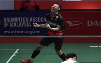 Zii Jia scores first win over Yu Qi to enter semis