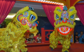 Malay lion dance troupe will be busy as bee during CNY