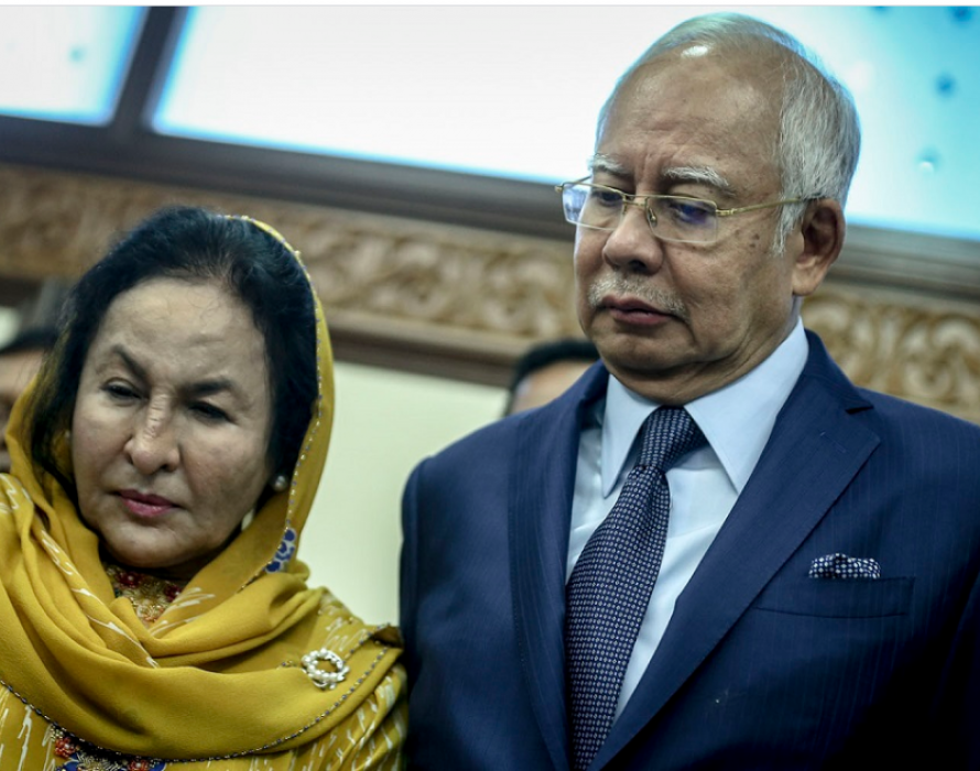 'You're the PM. Take charge! People are turning you into a villain', Rosmah tells hubby