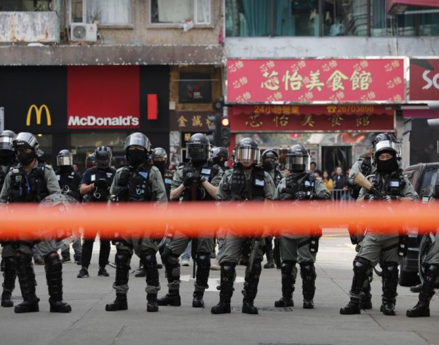 Hong Kong police defuse pipe bomb, arrest four for manufacturing explosives