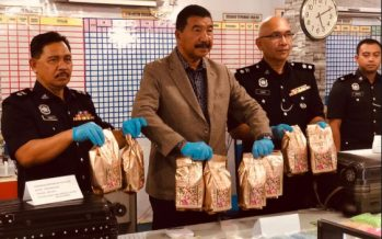 Drug ring busted, drugs worth RM1 mln seized in Sarawak