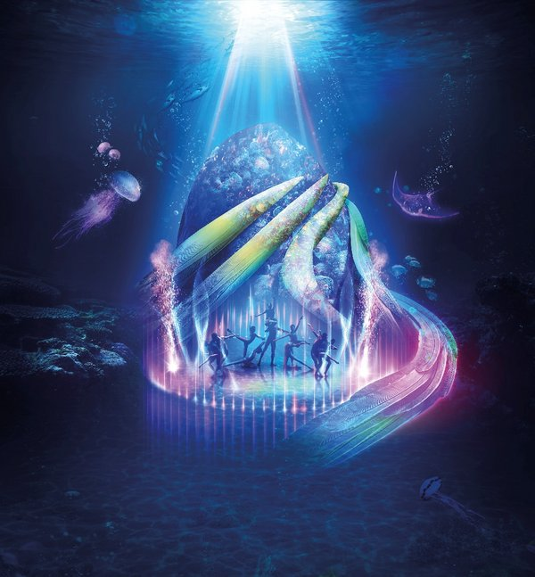 """Indulgence at Ocean Park's first-ever multimedia show """"Gala of Lights"""""""