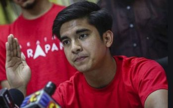Syed Saddiq: Armada backs Dr M, will not work with 'tainted' leaders
