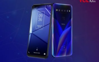 TCL Communication previews its new line of TCL-branded smartphones, including the company's first 5G phone at CES 2020