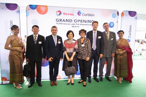 Thailand Board of Investment (BOI) Secretary General Duangjai Asawachintachit attended the grand opening ceremony of the Total Corbion PLA (Thailand) Ltd. plant back in September 2019.