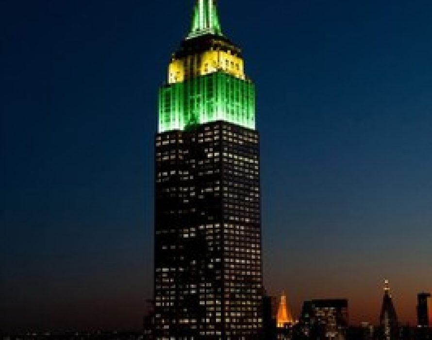 The Empire State Building Celebrates Australia Day On January 26