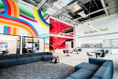 TikTok, the leading short-form video app, strengthens its U.S. presence with new office in Los Angeles. (PRNewsfoto/TikTok)