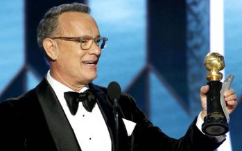 Golden Globe: Tom Hanks receives Lifetime Achievement Award