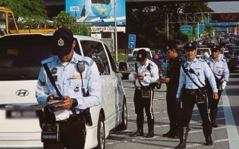 PDRM offers 50 per cent discount on traffic summonses from Jan 18