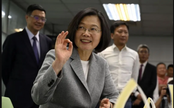 Taiwan to vote in shadow of China pressure, Hong Kong protests