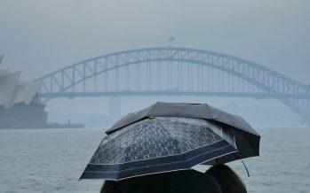 Australia's bushfire-stricken east welcomes drenching rain