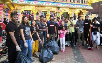 Thaipusam: Cleanliness is next to godliness, says campaign team