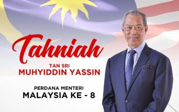 Muhyiddin appointed as the 8th PM