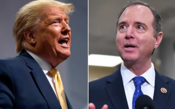 Trump accuses Schiff of trying to sabotage Sanders