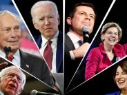 Rivals targets Sanders' at South Carolina Democratic debate