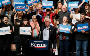 Democrat establishment, rivals rattled by the rise of Sanders'