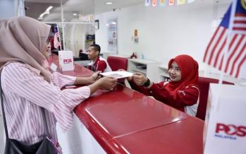 Pos Malaysia recorded lower revenue of RM1.68 billion