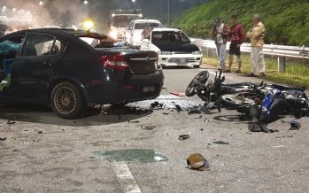 Driving against traffic: One killed in five- vehicle crash in Seremban