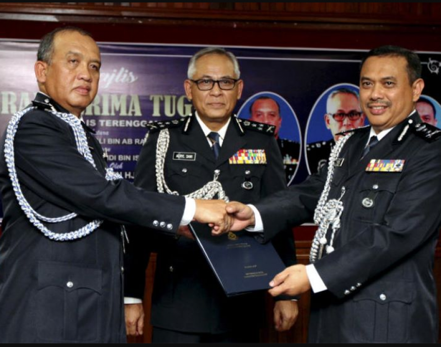 Aidi Ismail appointed the new Sarawak Police Commissioner