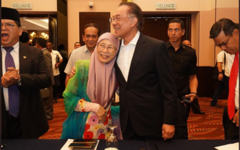 'Happy anniversary Wan Azizah': Everlasting love in the midst of a power struggle
