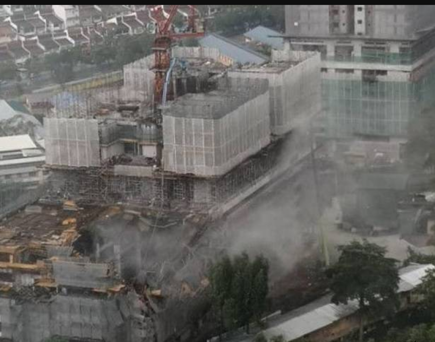 Under-construction condo collapse: Two workers safely rescued