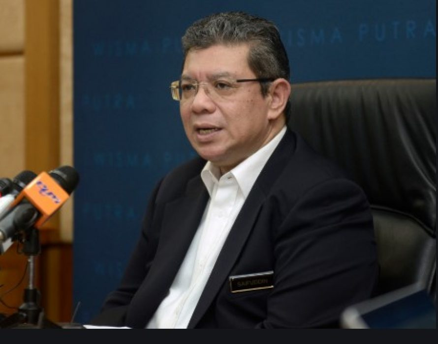 Vote of confidence on Sept 7, says Saifuddin