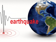 Strong earthquake strikes Sumatera in Indonesia