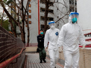 COVID-19: Hong Kong police officer infected, 59 others quarantined