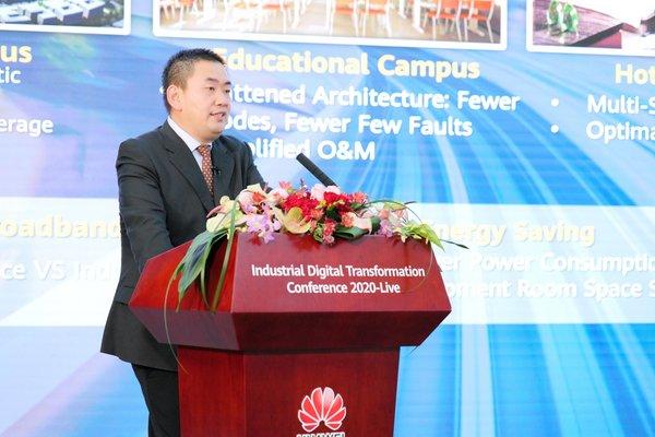 Sun Fuyou, Vice President of Huawei Enterprise BG