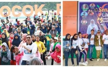 Likee Holds 'Senam Likee Hebat Juara' with Thousands of Likee Users